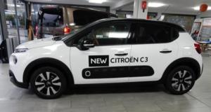 Voiture modèle Citroën C3