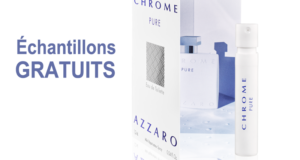 Échantillons gratuits du parfum Azzaro Chrome Pure