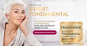 Échantillons gratuits du soin Expert Fondamental de Diadermine