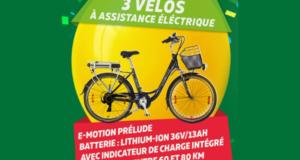 3 vélos à assistance électrique