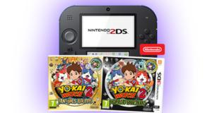 Console de jeux Nintendo 2DS + jeux vidéo