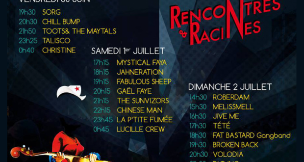 Festival rencontres et racines 2018