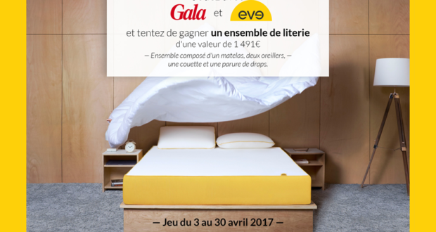 ensemble de literie eve matelas de 1491 euros chantillons gratuits france. Black Bedroom Furniture Sets. Home Design Ideas
