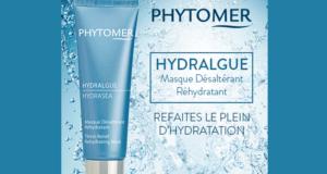 Testez le Masque Hydralgue Désaltérant Réhydratant de Phytomer