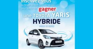 Voiture modèle Toyota Yaris Hybride