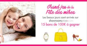 15 bons d'achat Showroomprivé de 100 euros