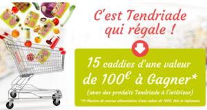 15 lots de 100 euros de produits Tendriade