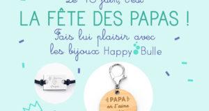5 bons d'achat Happybulle de 50 euros