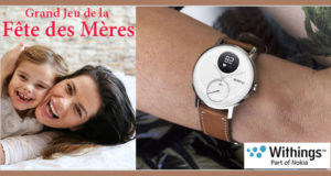 5 montres connectées Steel HR Withings