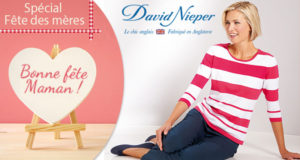 6 bons d'achat David Nieper de 150 euros