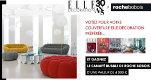 Canapé Roche Bobois de 4000 euros