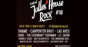 Des pass VIP pour le festival Jalles House Rock