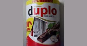 Ferrero Duplo Choco Gaufrette 100% remboursé