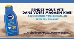Échantillons gratuits, Crème solaire Nivea Sun
