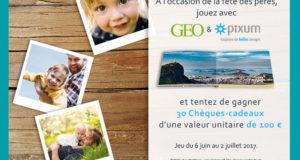 30 chèques cadeau Pixum de 100 euros