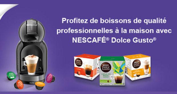 300 machines caf nescaf dolce gusto mini me offertes. Black Bedroom Furniture Sets. Home Design Ideas