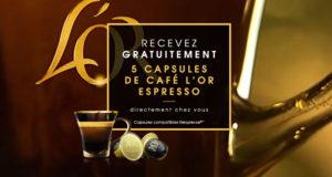 45000 capsules à café L'Or Espresso Gratuites