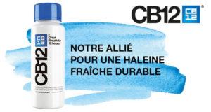 900 bains de bouche CB12 Haleine Fraîche à tester