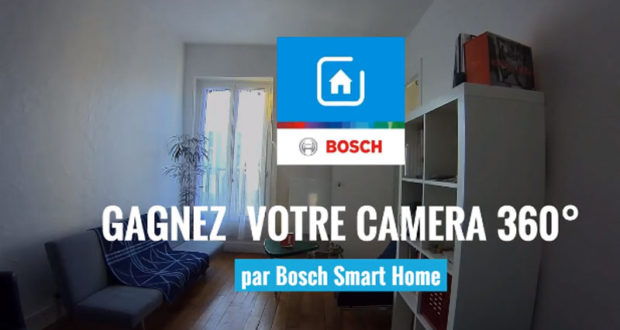 cam ra 360 bosch smart home chantillons gratuits france. Black Bedroom Furniture Sets. Home Design Ideas