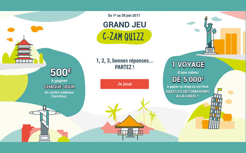 Ch que cadeau carrefour voyages de 5000 euros - Credit carrefour pieces justificatives ...