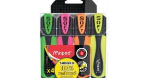 Surligneurs Fluo Peps Ultra Soft 100% remboursés