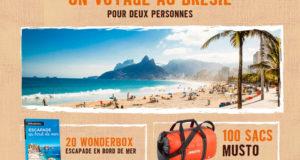 Voyage de 8 jours pour 2 personnes au Brésil
