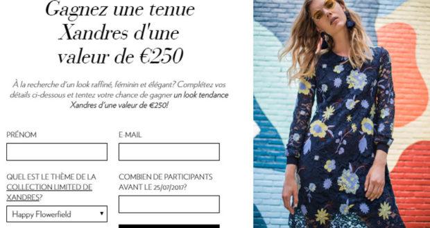 Bon d'achat Xandres de 250 euros