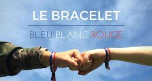 Bracelets bleu-blanc-rouge gratuits