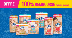 Couches Lotus Baby Touch 100% remboursées