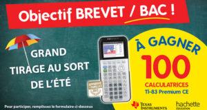 100 calculatrices Texas Instruments