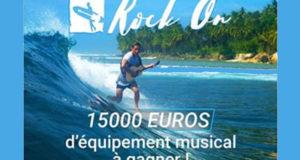 15000€ d'équipement musical à gagner