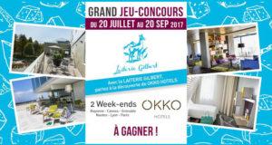 2 bons cadeau Okko Hotels de 150 euros