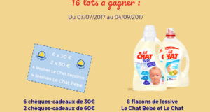 2 chèques cadeau Petit Bateau de 60 euros