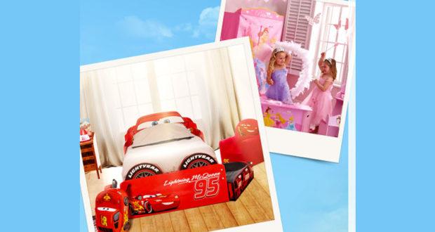 chambre enfant cars ou disney princesses. Black Bedroom Furniture Sets. Home Design Ideas