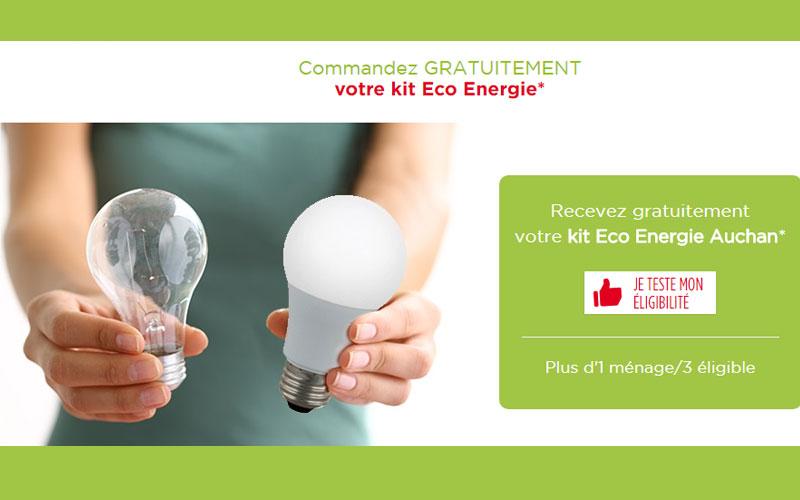 Kit eco energie auchan gratuit chantillons gratuits france - Auchan prime eco energie ...