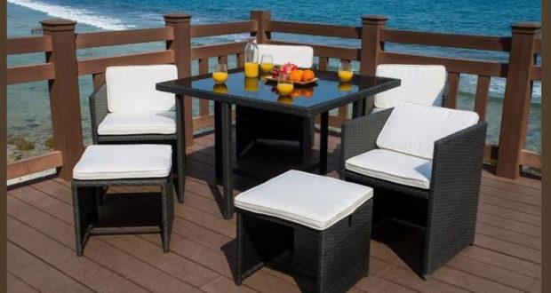 salon de jardin mah. Black Bedroom Furniture Sets. Home Design Ideas