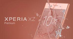 Smartphone Sony Xperia XZ Premium (valeur 500 euros)