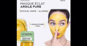 Testez le Masque Eclat à l'Argile Pure de L'Oréal Paris