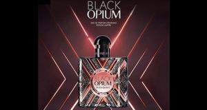 Échantillons gratuits de parfum Black Opium Pure Illusion