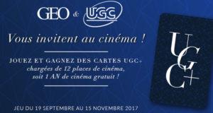 10 cartes d'un an de cinéma UGC