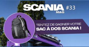 100 sacs à dos Scania