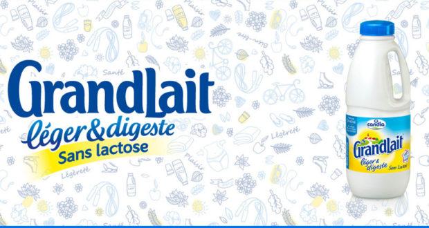 3000 testeurs pour le lait sans lactose Candia GrandLait