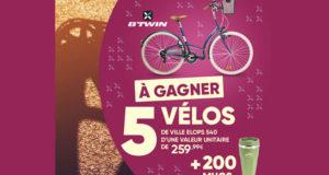 5 vélos de ville Btwin