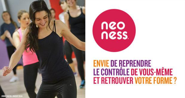 Abonnement d' un an en club de fitness Neoness