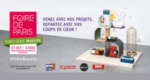 Invitations gratuites pour la Foire de Paris Maison Automne 2017