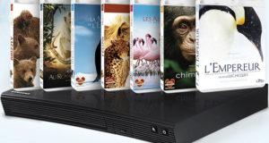 Lecteur Blu-ray + 7 films Disney Nature