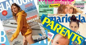 Les cadeaux avec les magazines de septembre 2017