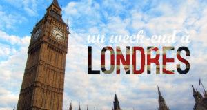 Week-end à Londres pour 2 personnes en hôtel 4 lots