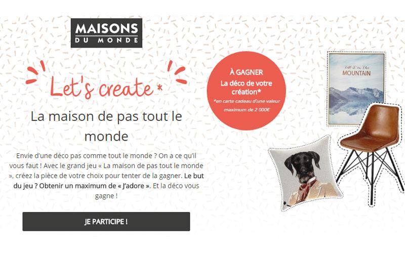 1 Lot De 2000 Euros De Cartes Cadeaux Maisons Du Monde Echantillons Gratuits France