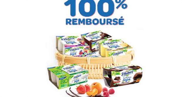 100% remboursé sur Les Petits Plaisirs Soja riz onctueux St-Hubert